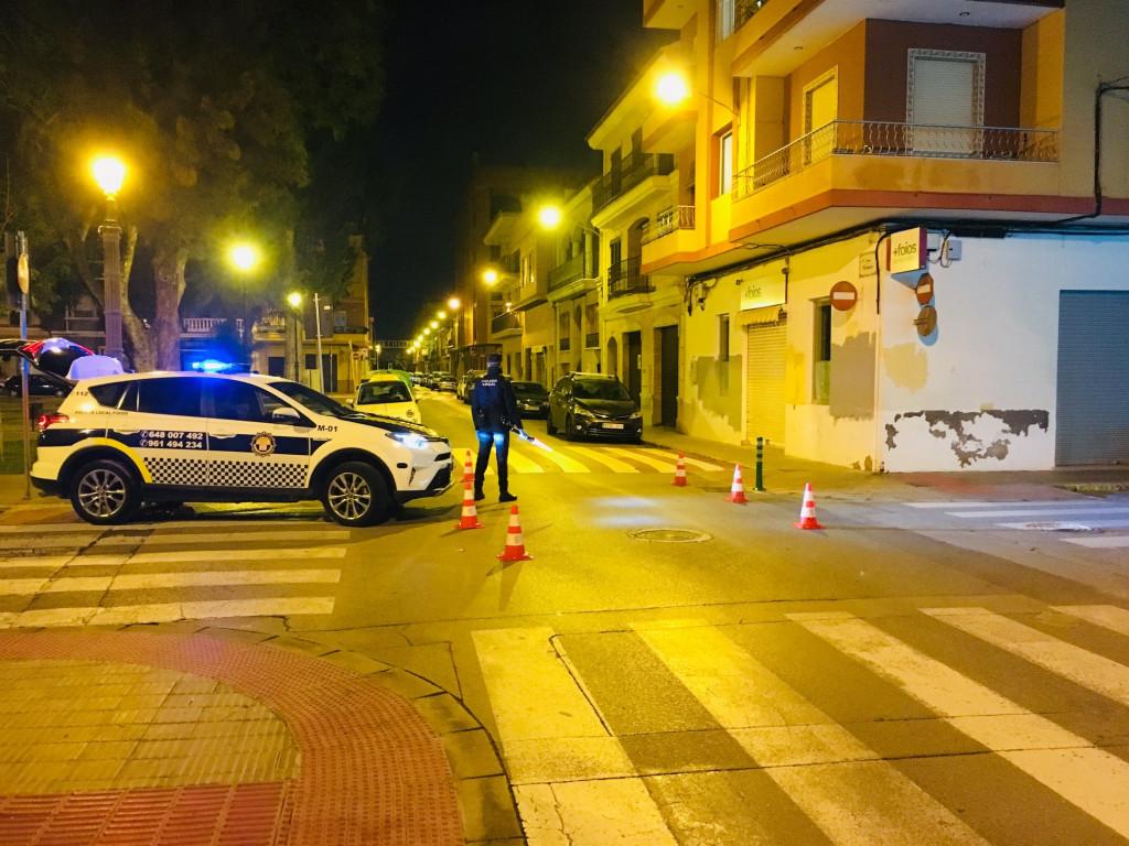 control Policía Local Foios
