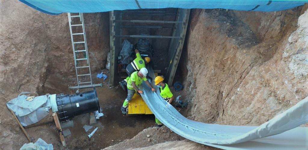 EMSHI renueva con éxito una tubería de 500 metros en Quart de Poblet sin abrir zanjas