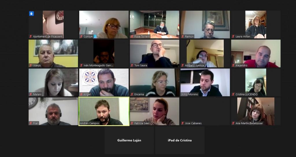 PSPV Horta Sud reunión telemática