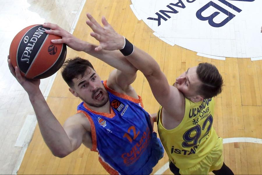 Valencia Basket abre la recta final de la Euroliga ante un Fenerbahçe Beko Istanbul lanzado