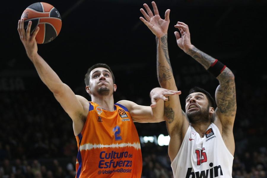 Valencia Basket busca el 1º triunfo ante Olympiacos Piraeus en la Fonteta para alargar las opciones de Playoff