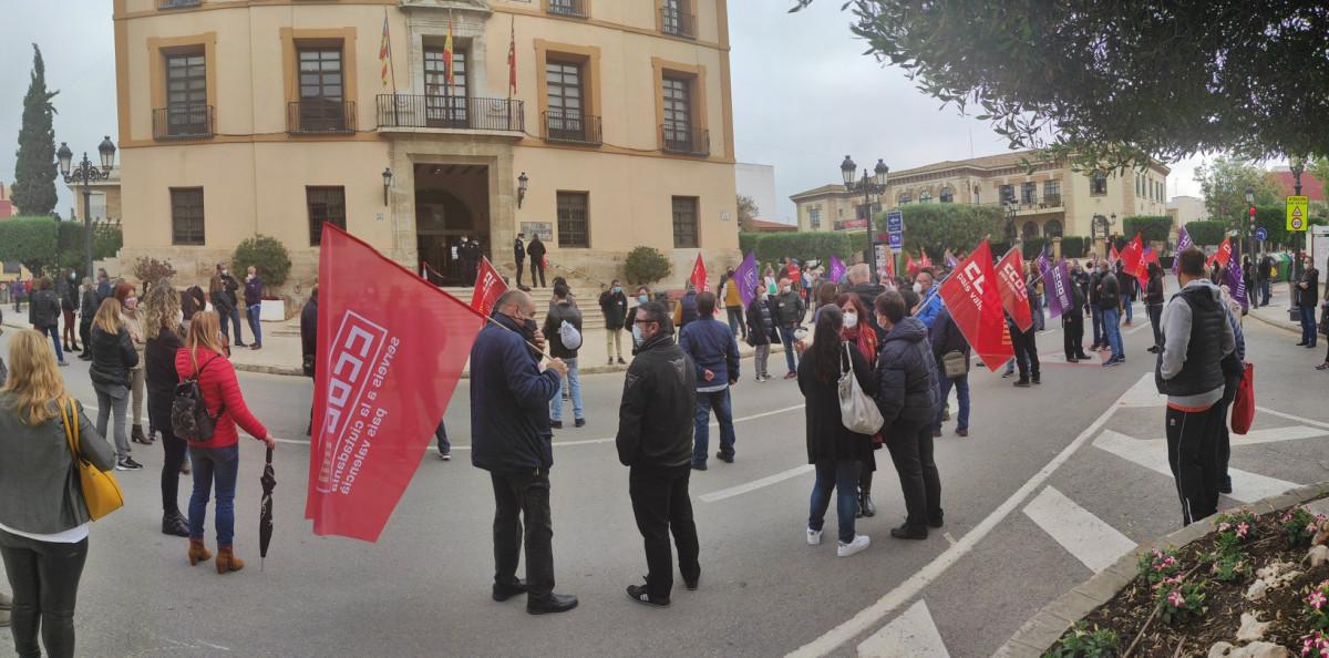 concentración CCOO Paterna