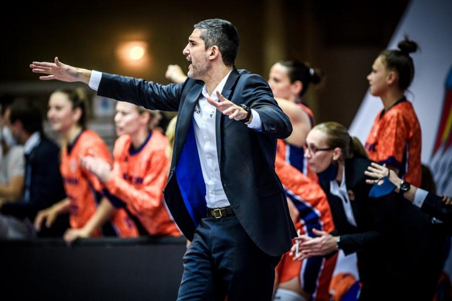 Declaraciones Rubén Burgos post SF Eurocup Women vs Carolo