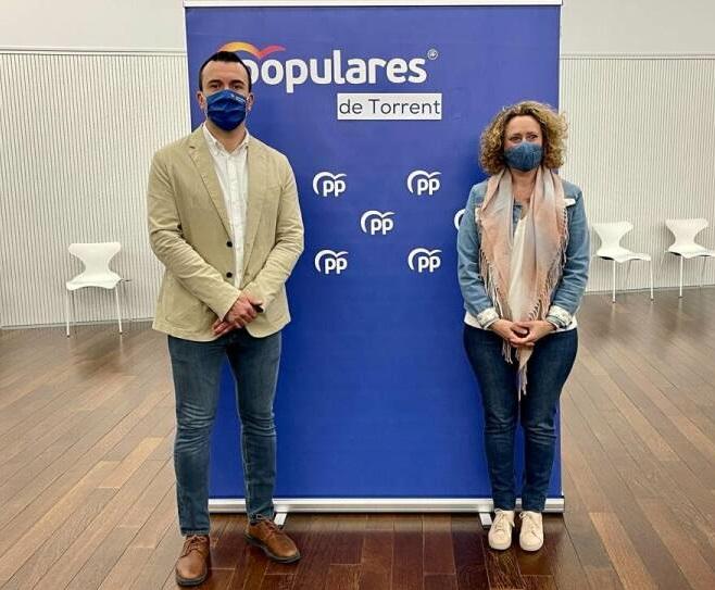 PP Torrent Amparo Folgado y Arturo García