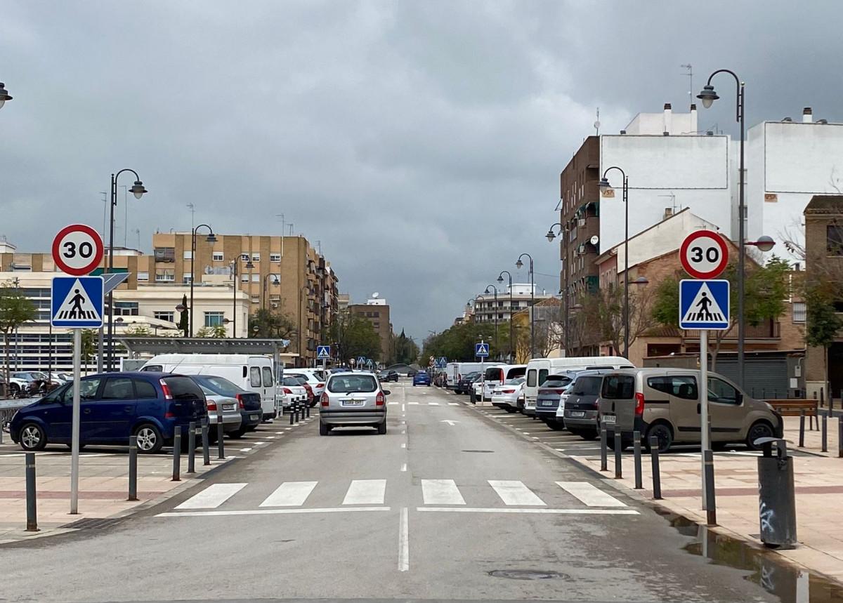 límite velocidad Quart de Poblet