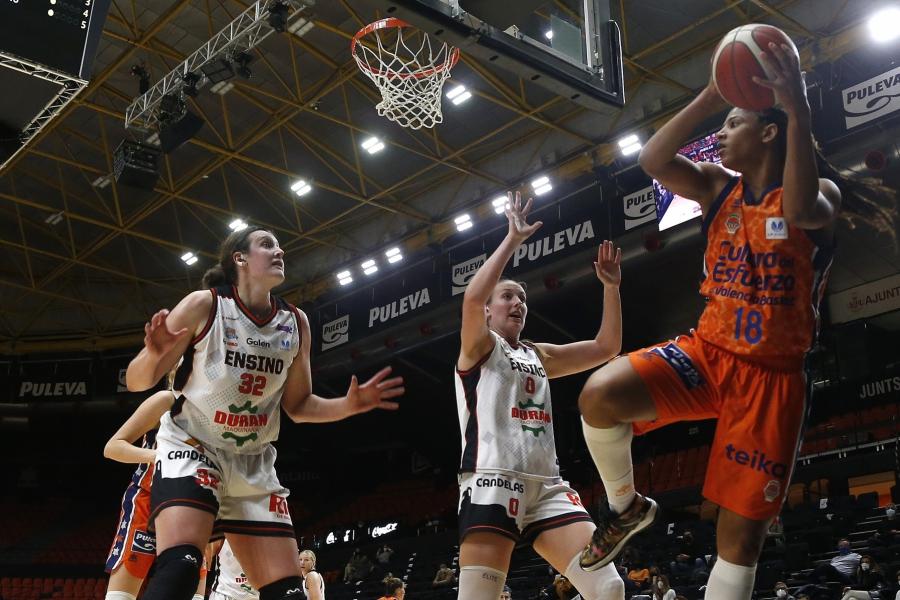 Valencia Basket alcanza sus segundas semifinales de LF Endesa (82-54)