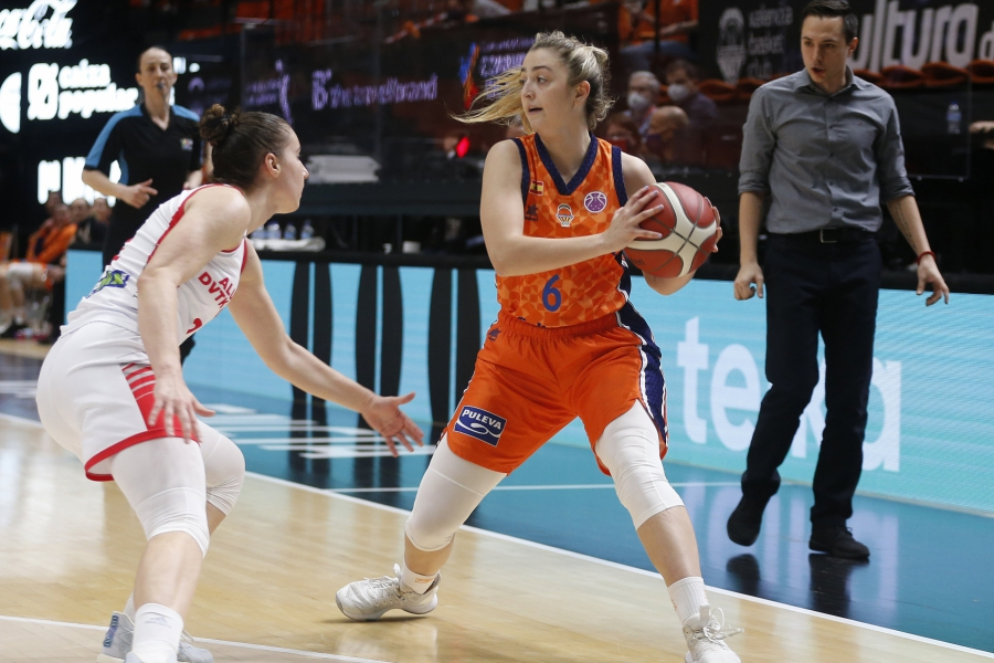 Valencia Basket busca el billete para la final de la EuroCup Women frente al Carolo Basket