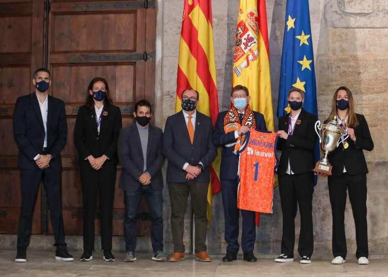 Valencia Basket en Generalitat
