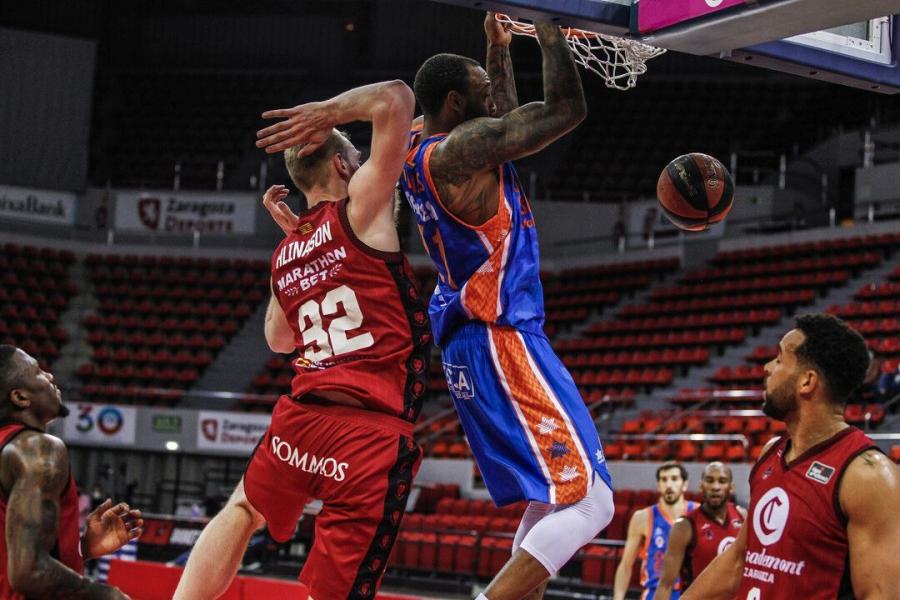 Valencia Basket recupera sensaciones en Liga Endesa ganando en Zaragoza (76-85)