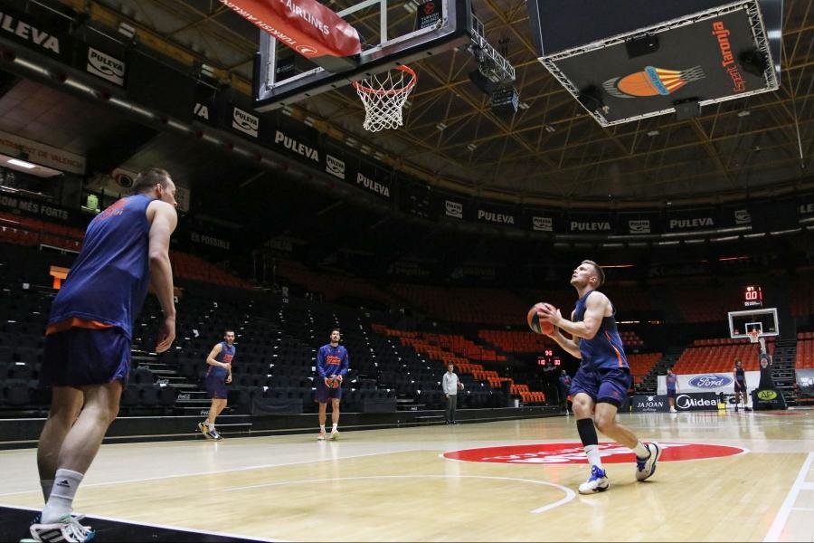 """Valencia Basket ya mira hacia su """"final"""" del jueves ante el TD Systems Baskonia"""