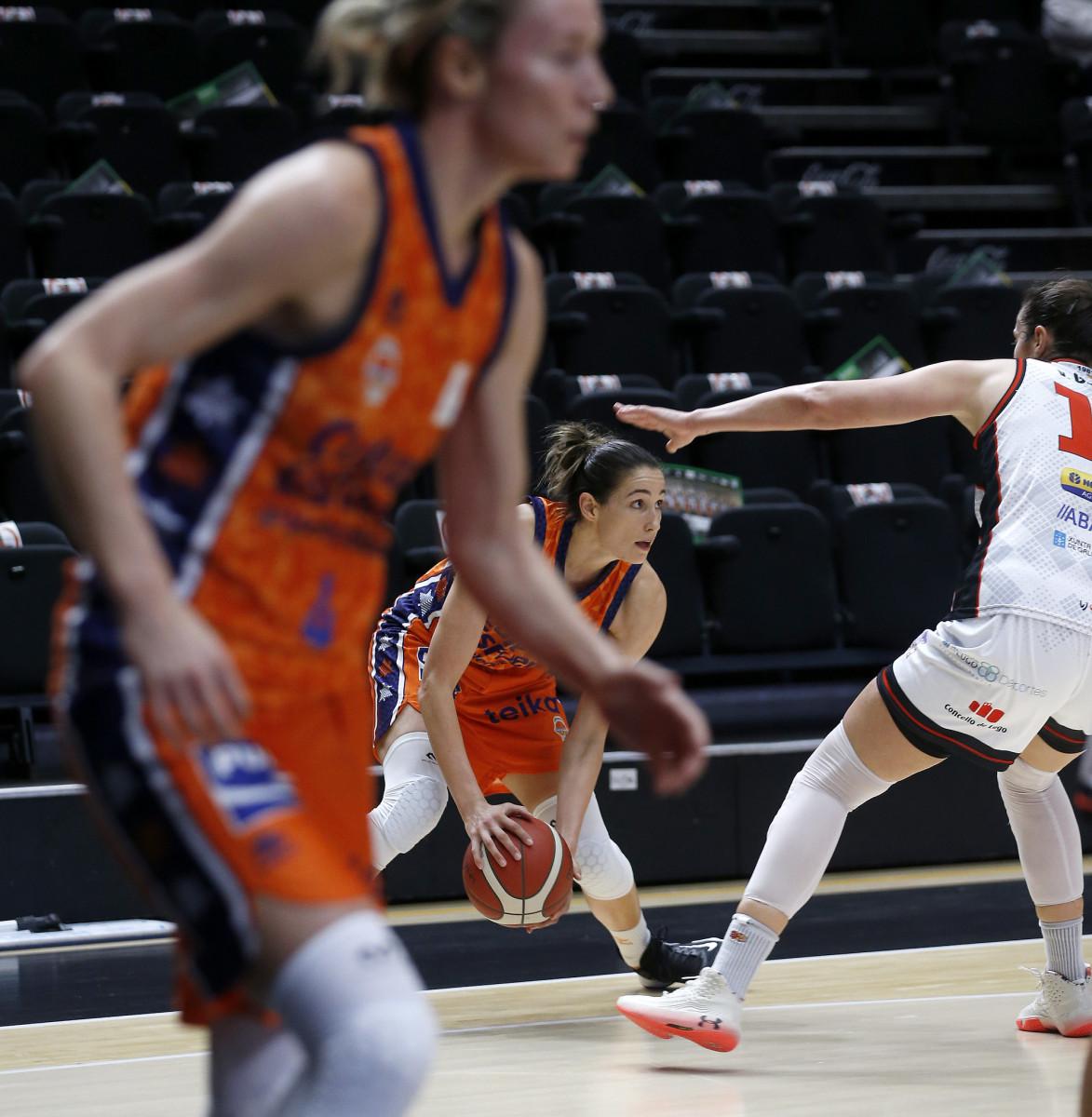 Valencia Basket contra Ensino