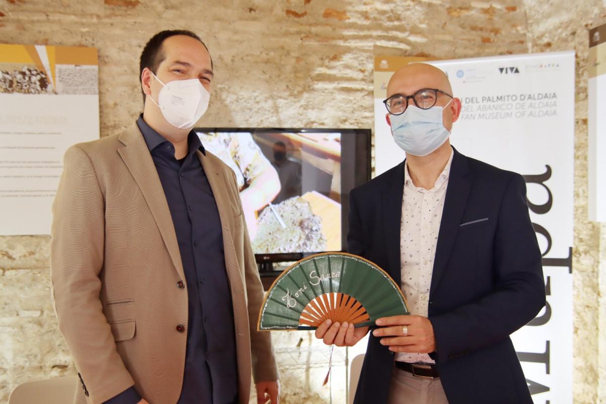alaquas apoya Aldaia ciudad creativa abanico