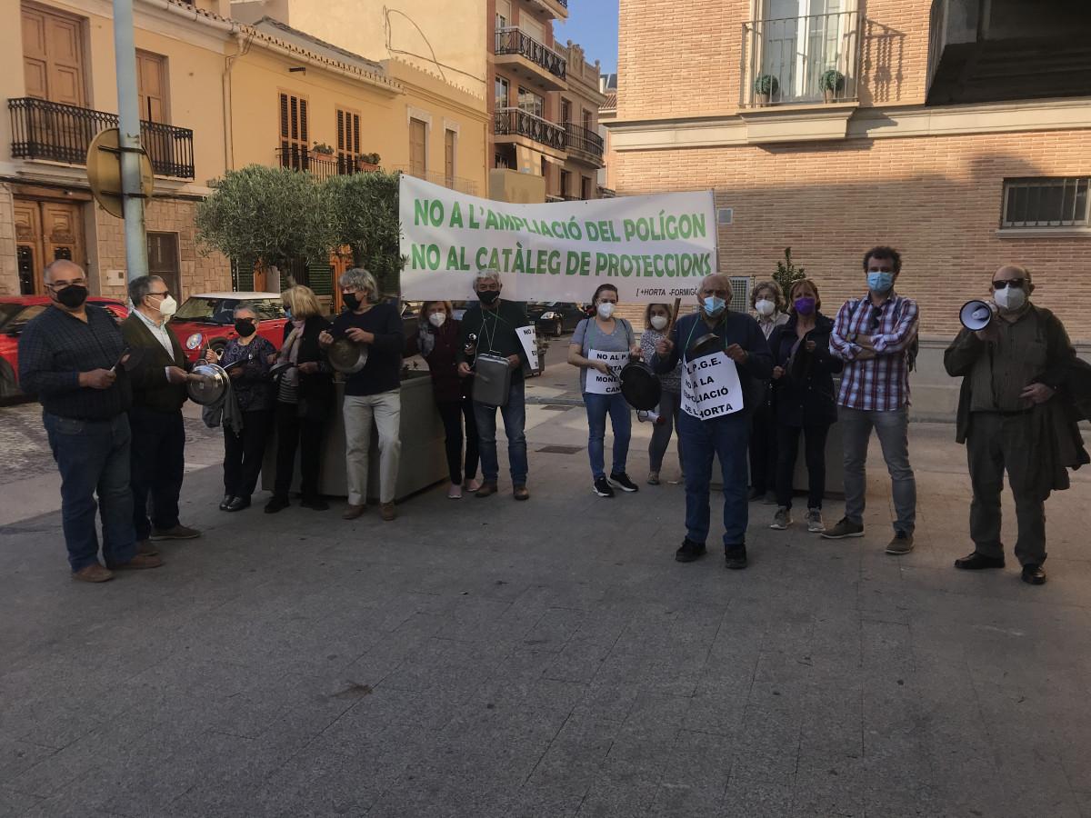 concentracion contra PGE Alboraya