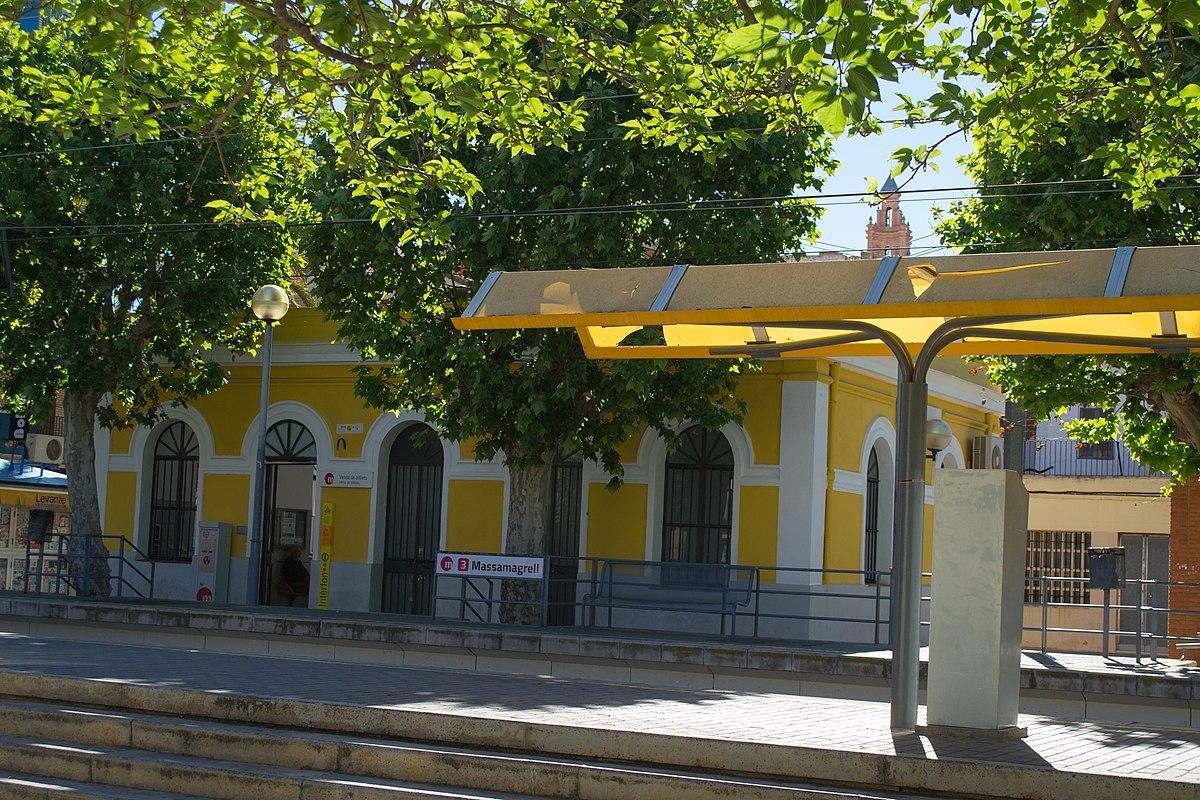 estacion metro Massamagrell