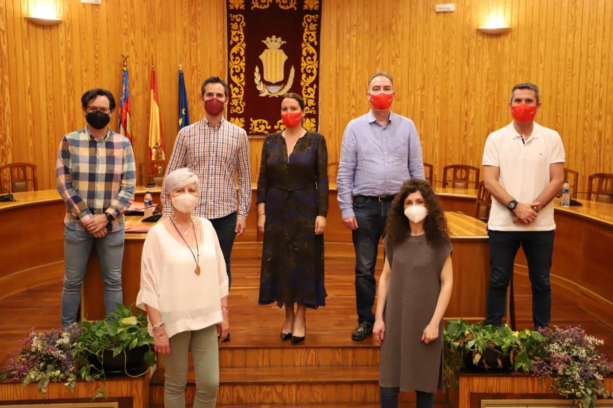 Moncada reunion ayuntamiento y asociacion comerciantes