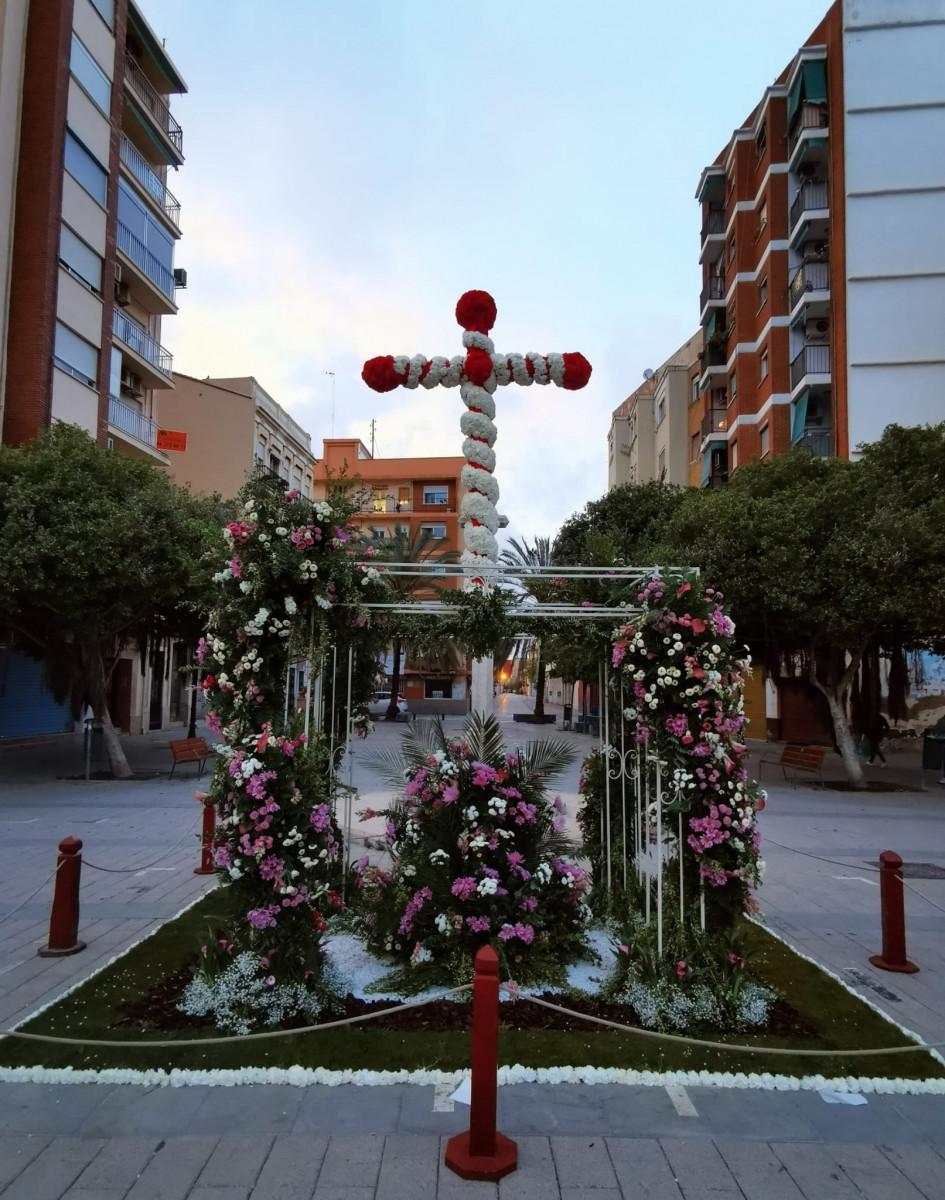 Falla Plaça de la Creu - Els Àngels.
