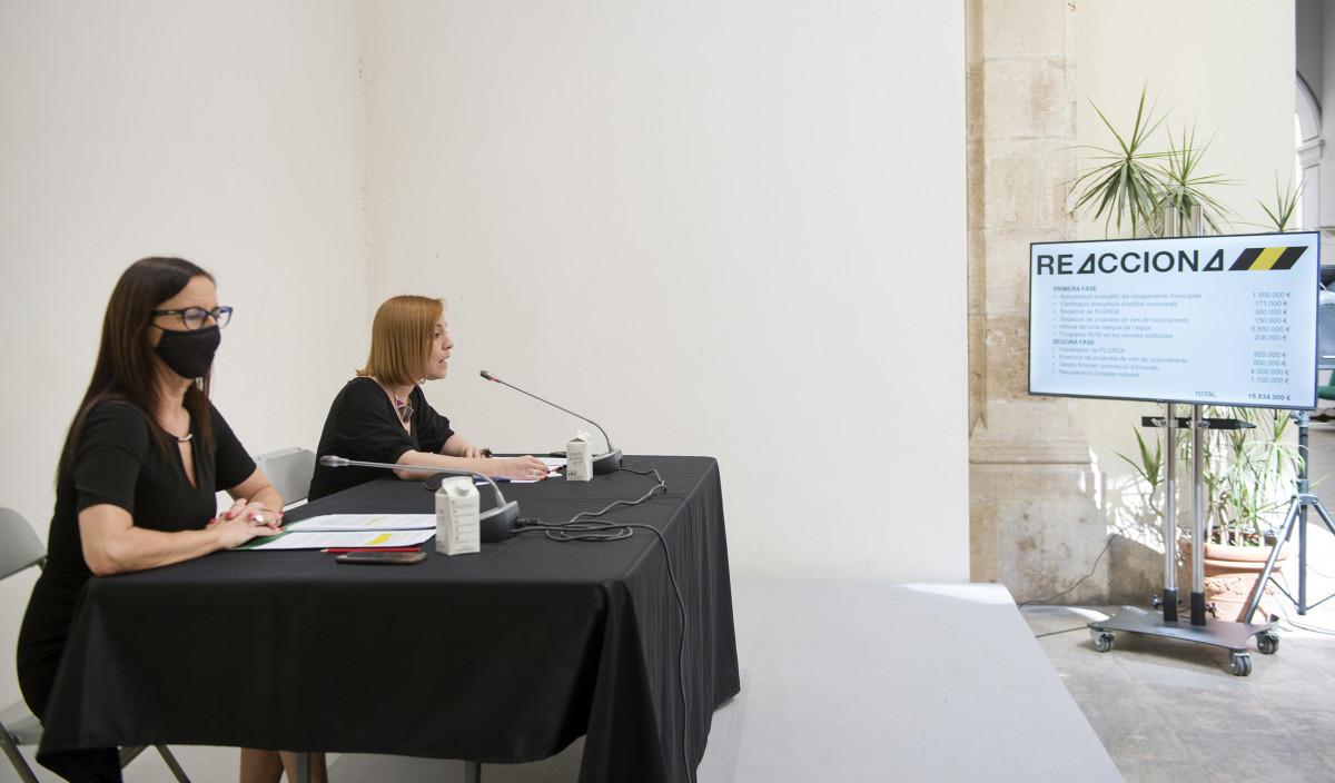 Presentación Plan REACCIONA Maria Josep Amigó y Dolors Gimeno