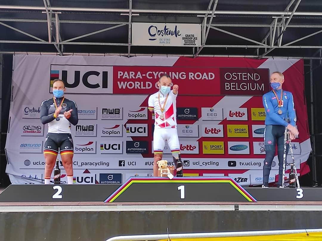 Ricardo Ten campeón del mundo ciclismo paralímpico