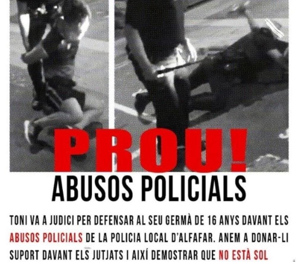agresión Policía Local Alfafar