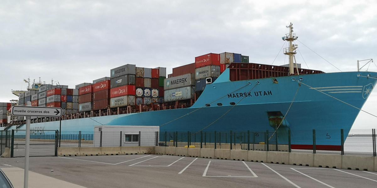 El 'Maersk UTAH', de la compañía Maersk.