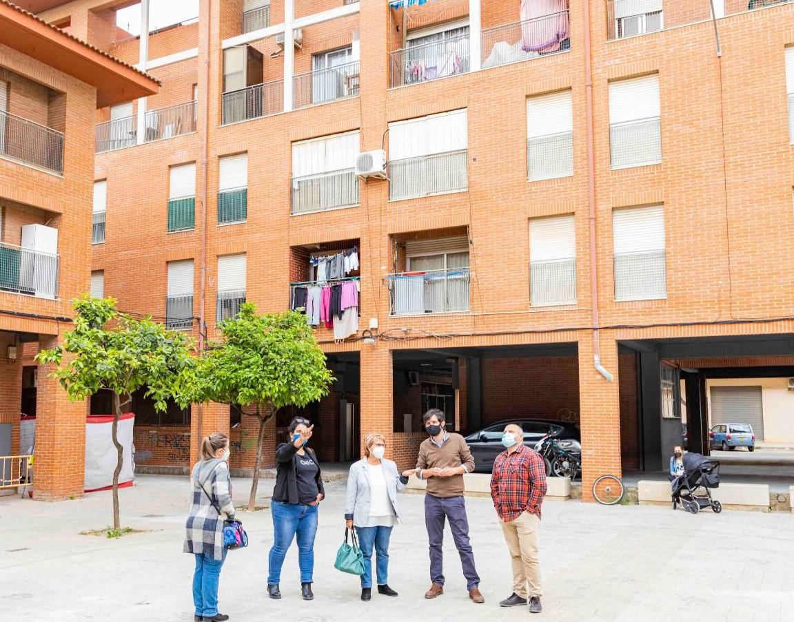 grupo viviendas públicas Picassent