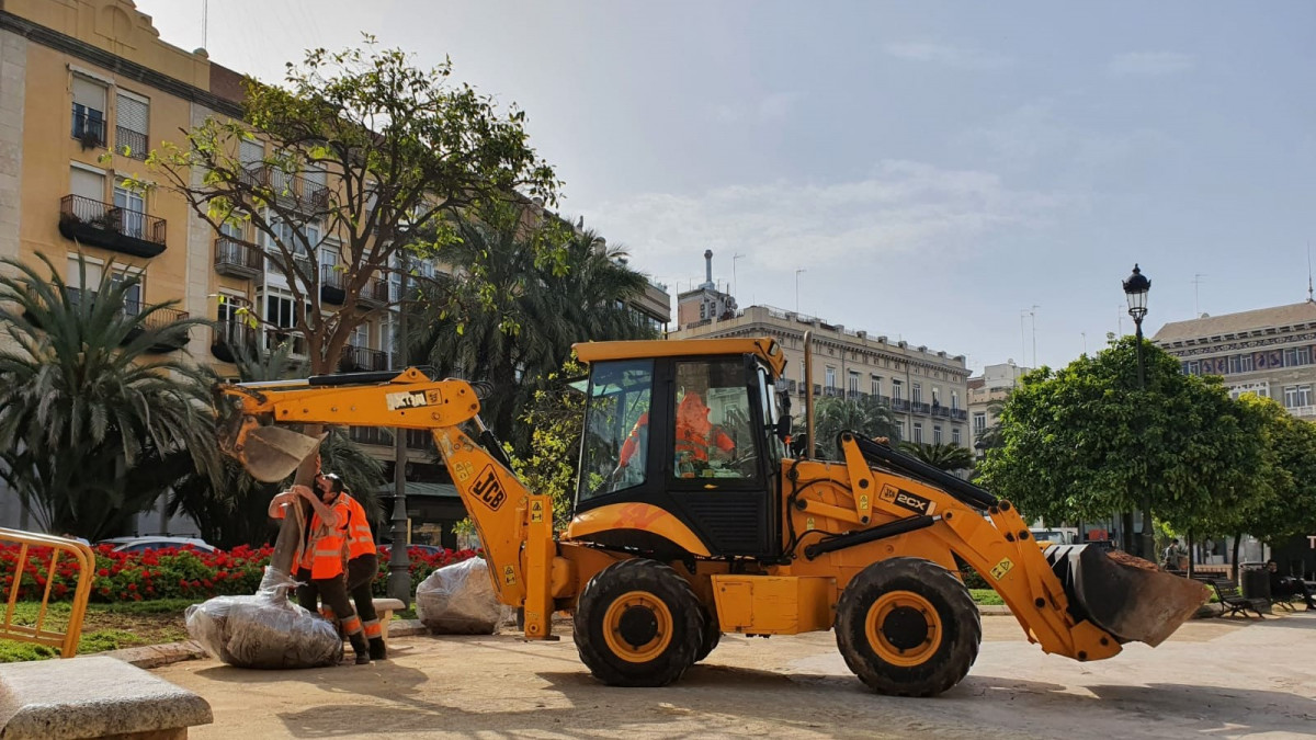 reforma plaza de la reina de Valencia