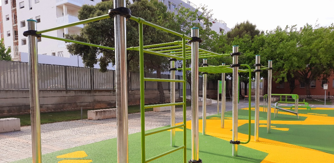 IES Salvador Gadea de Aldaia, primer centro escolar de la Comunitat Valenciana que contará con un centro de calistenia y street workout