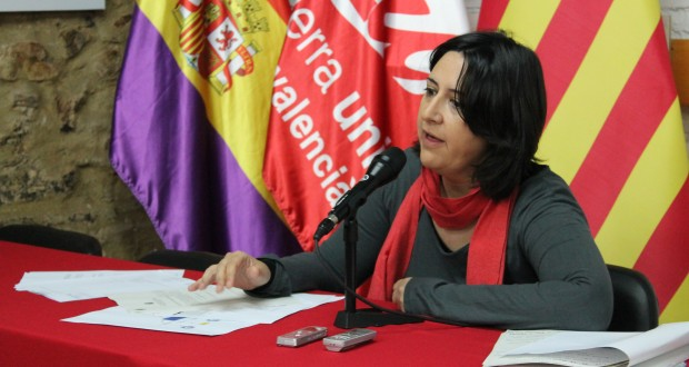 Rosa Perez Garijo Esquerra Unida del Pais Valencià