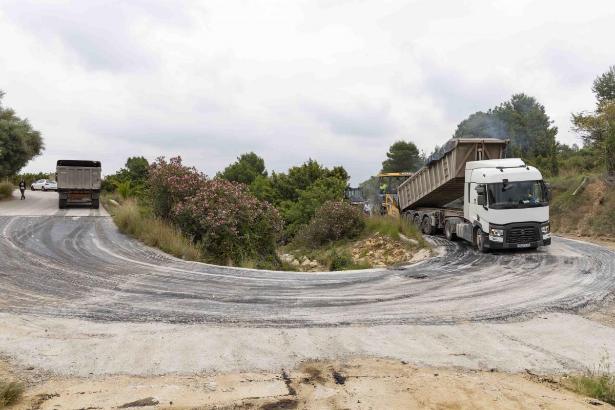 Picassent reparació dels camins afectats pel temporal de novembre de 2020