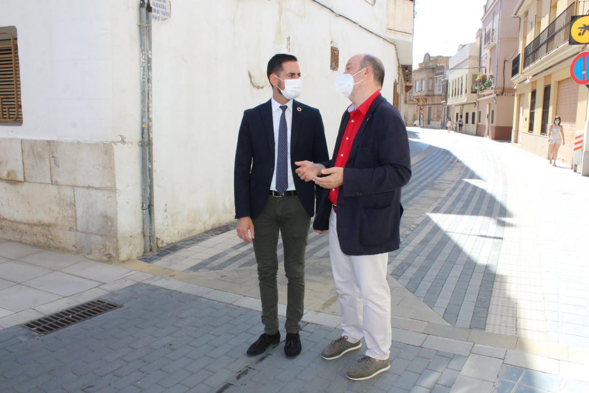 visita Bielsa a Almàssera