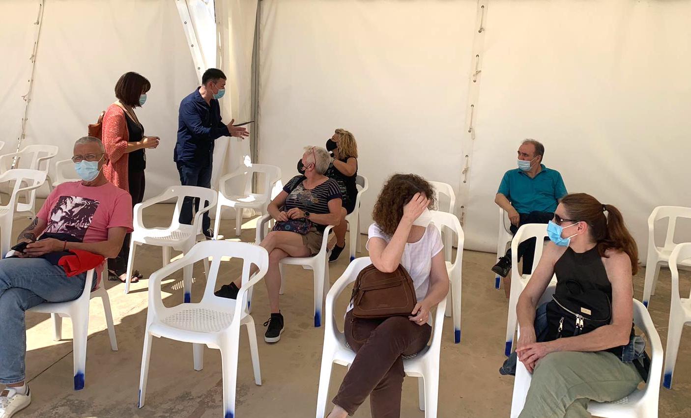 Centro de vacunación de Catarroja/ Foto: Ayuntamiento