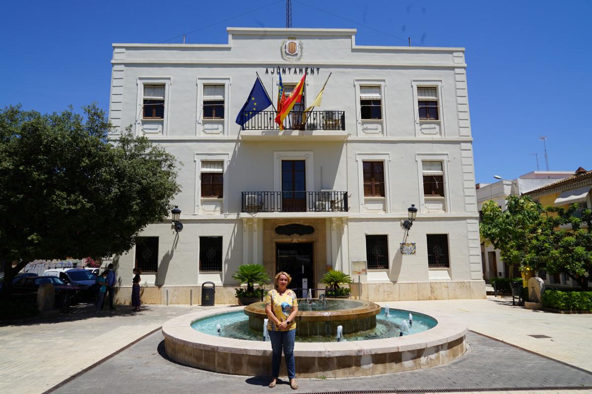 Eva Sanz, alcaldesa de Benetússer y presidenta de la Mancomunitat de l'Horta Sud