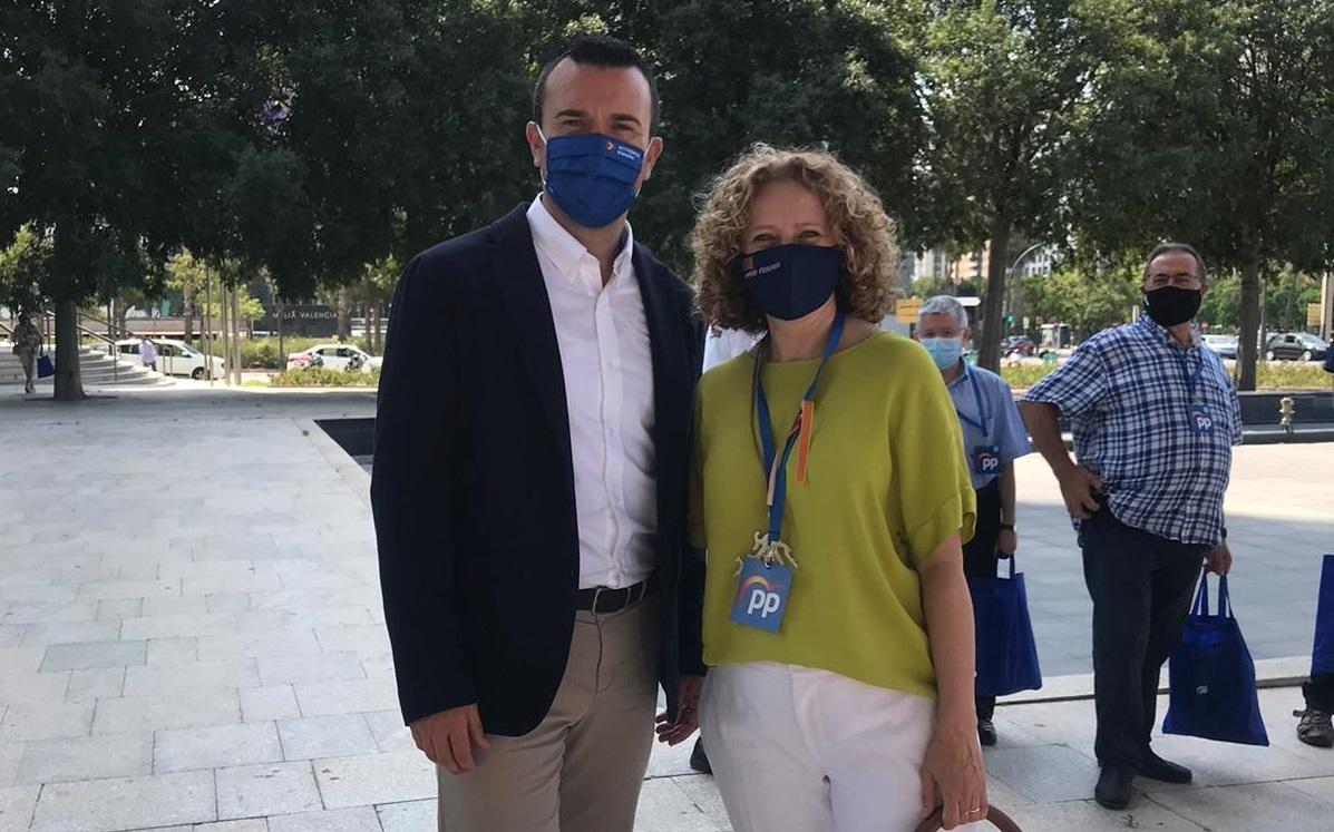 <h2>Amparo Folgado y Vicente Mompó (PP provincia de Valencia)</h2>