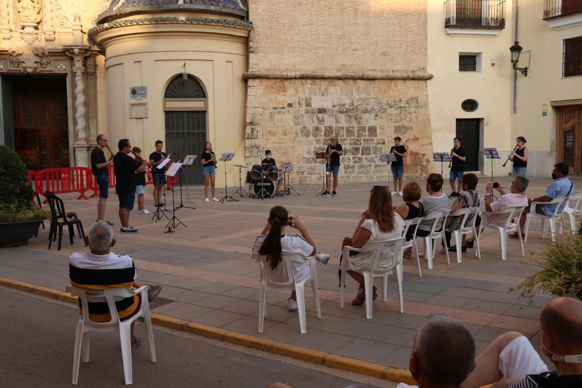 Los conciertos se han realizado respetando las medidas de seguridad/ Fotos: Torrent