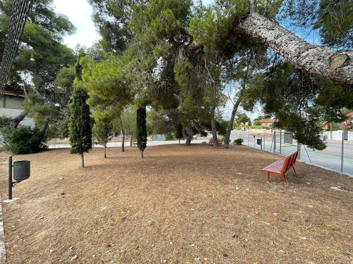 La nueva zona ya está lista/ Foto: Paterna