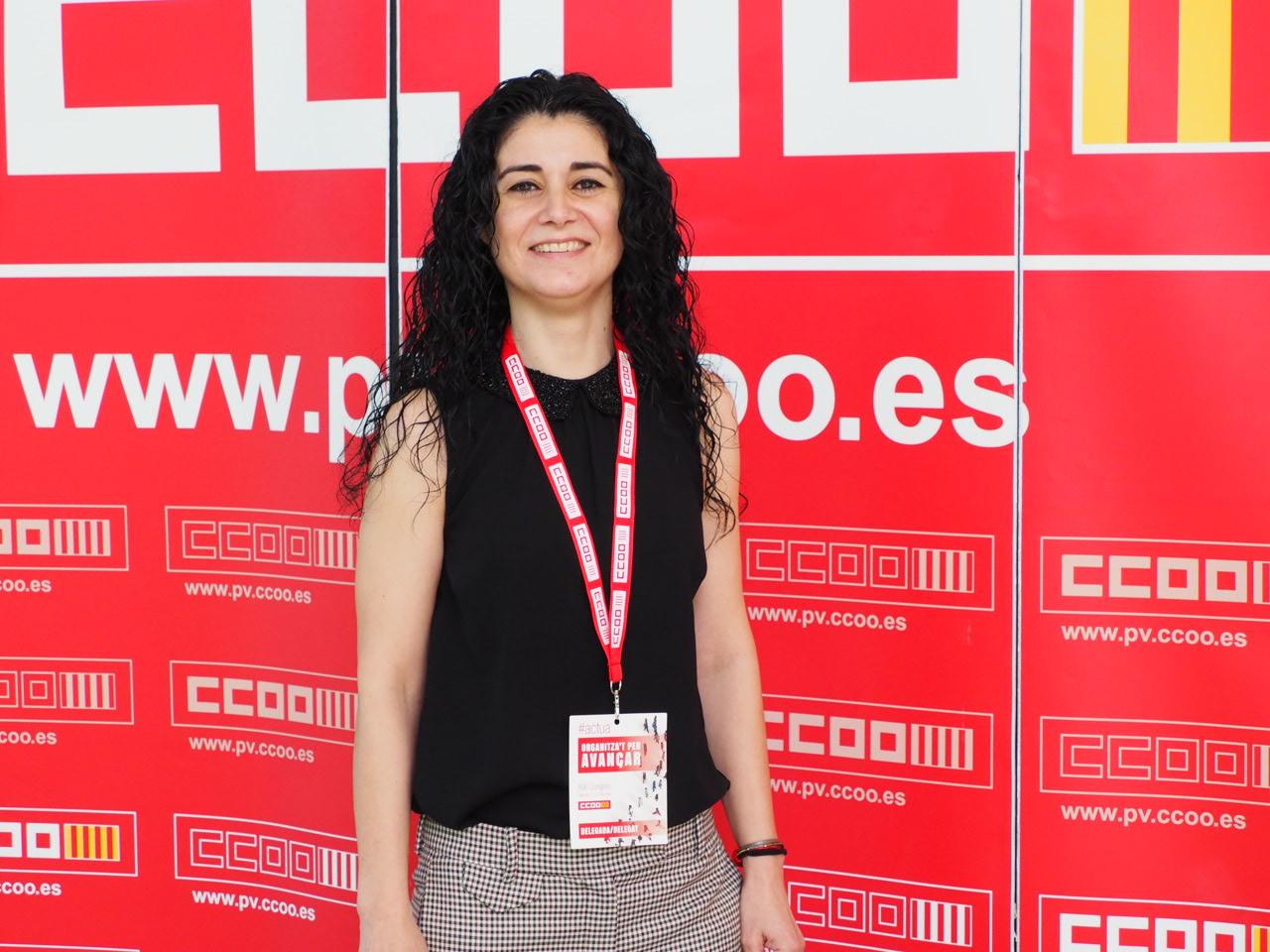 Ana García Alcolea CCOO PV