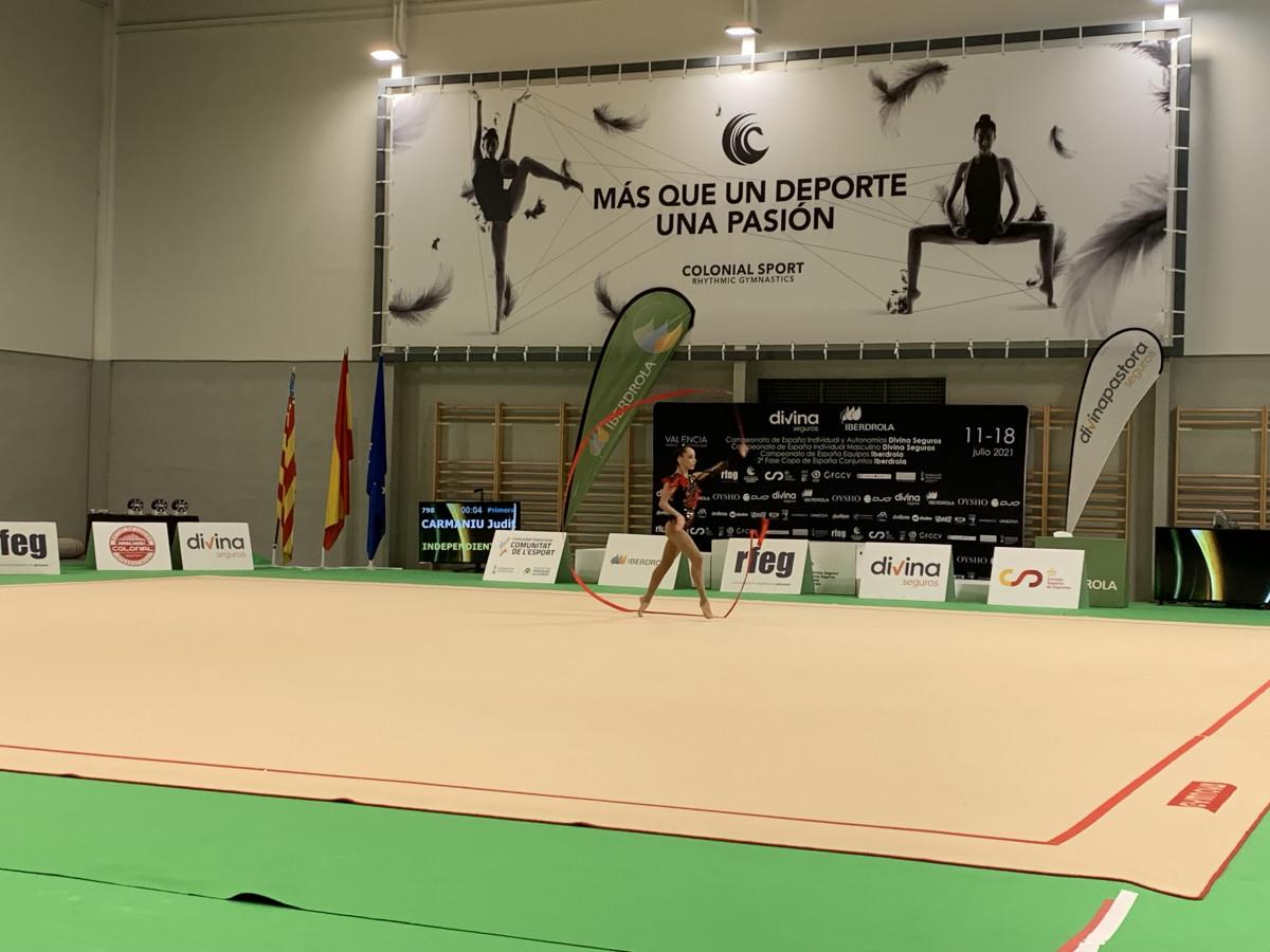 campeonato gimnasia ritmica Alfafar