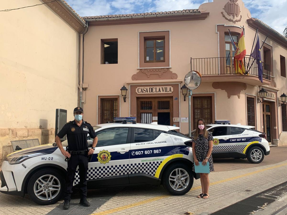 <h2>vehículos ecológicos Policía Local Museros</h2>