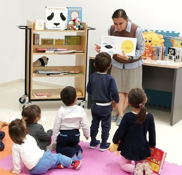 Ya está en marcha el club de lectura bebeteca para niños de entre 9 meses y 3 años.