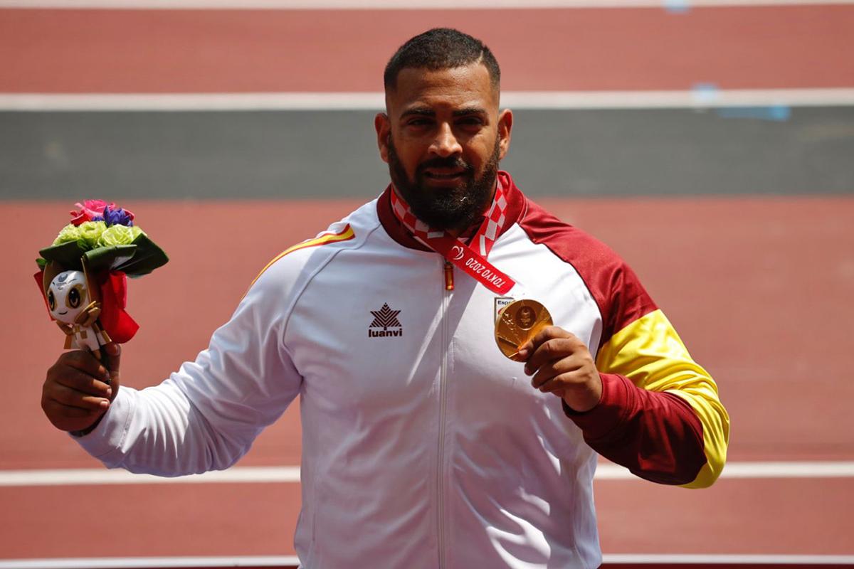 Kim López medalla de oro Juego Paralímpicos Tokio 2020