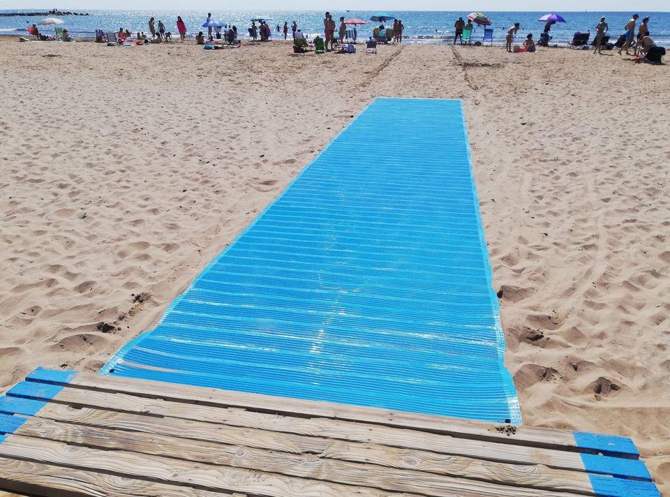 pasarela playa pobla farnals
