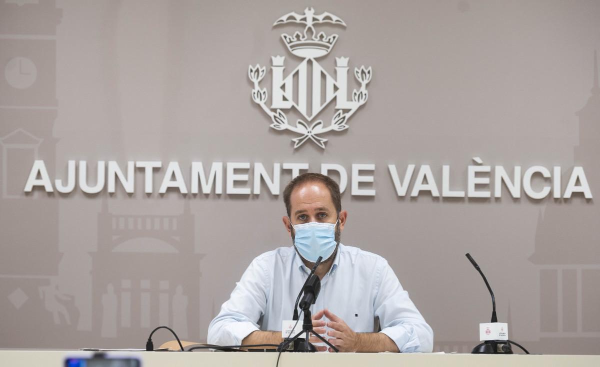 Aaron Cano ayuntamiento Valencia