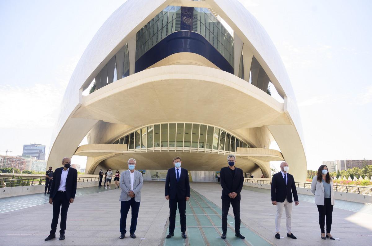 El Palau de les Arts se vestirá de gala el próximo mes de febrero para acoger la Gala de Entrega de los Premios Goya