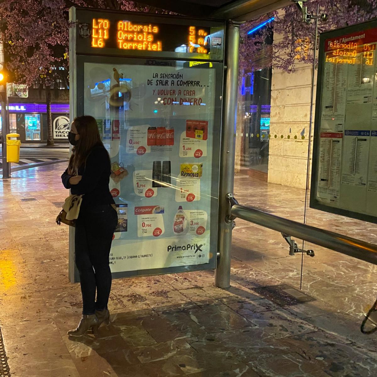 Parada Violeta de la EMT en València