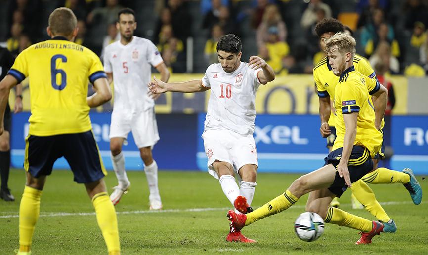 Carlos Soler Seleccion Española debut ante Suecia con gol