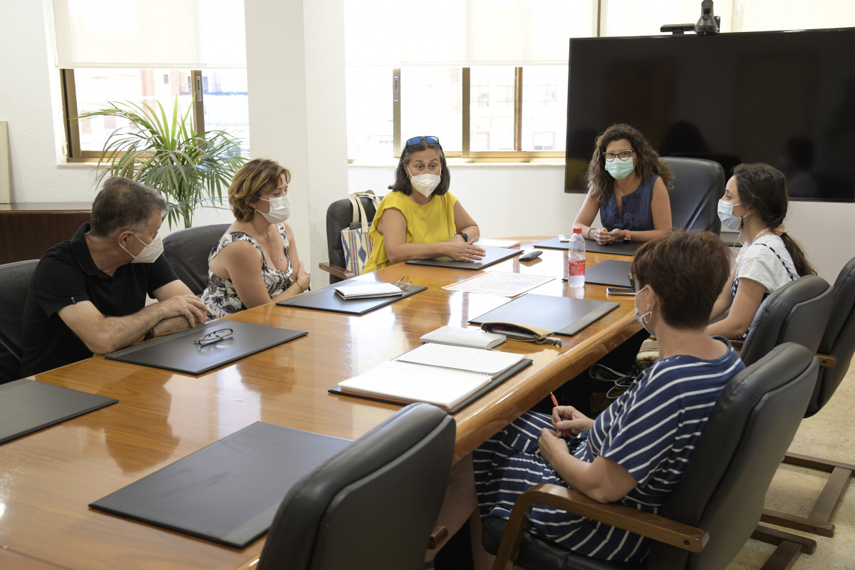 reunion trabajo Plan Resistir Paiporta