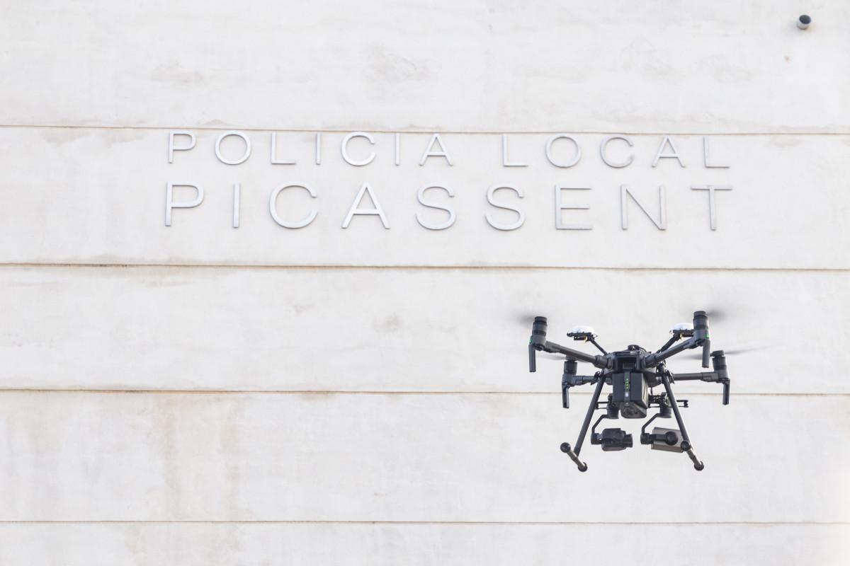 Dron de la Policia Local de Picassent