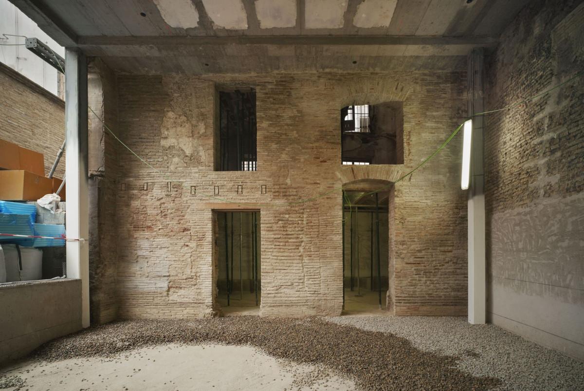 Las salas del Centro de Arte Hortensia Herrero comienzan a tomar forma en la fase C del proyecto de reforma