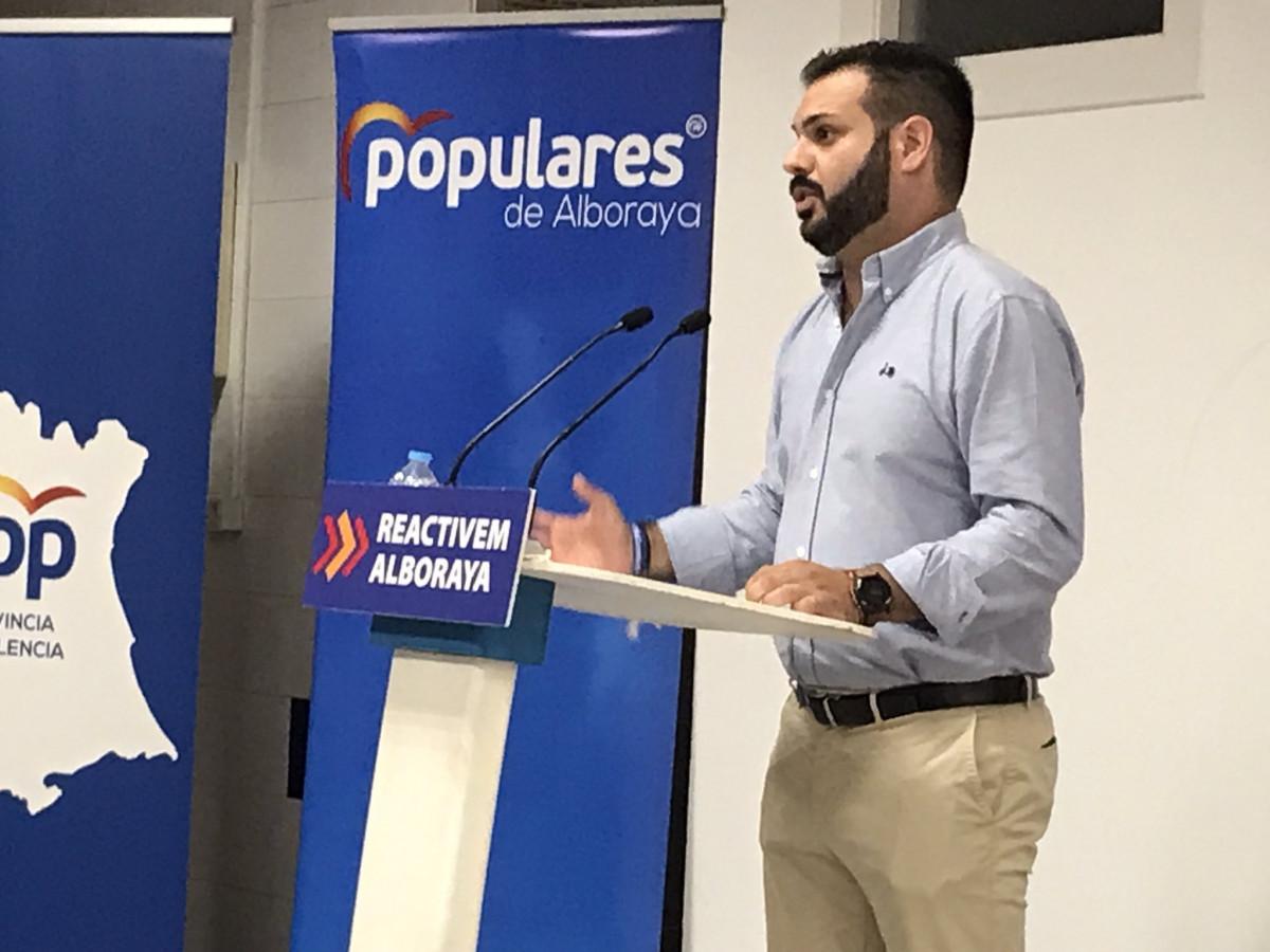 Modesto Martínez nuevo presidente del PP de Alboraya