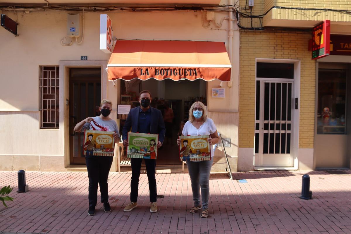 Silla ús valencià comerç local